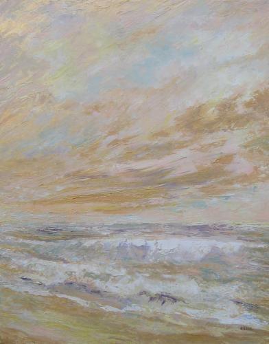 Goudkleurige zee